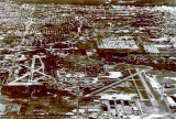 1945 to 1947 - aerial photo of 36th Street Airport (left) and the Army Air Corps Airfield (right) that were combined to form MIA