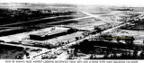 1949 - looking southwest at Miami International Airport with LeJeune Road and NW 36th Street in the foreground