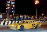 1985 or 1986 - Ricky Gosney winning a 50-lapper that night at Hialeah Speedway