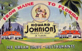 Howard Johnson's Ice Cream Shops and Restaurants - from Maine to Florida