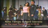 Nino Tempo and  April Stevens performing All Strung Out on You on The Lloyd Thaxton Show