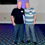 HHS-66 50-Year Reunion and Reunion of the 60's: my old friend Carl Bradley and me on Saturday night at the Milander Center