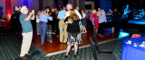 HHS-66 50-Year Reunion and Reunion of the 60's:  Tom Fitzpatrick (HHS-65)(left) - classmates dancing at the Saturday night event