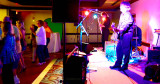 HHS-66 50-Year Reunion and Reunion of the 60's:  Friday night at the Grand Slam Ballroom at Shula's Hotel - the band and dancers