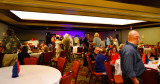 HHS-66 50-Year Reunion and Reunion of the 60's:  classmates at the Grand Slam Ballroom on Friday night