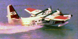Early 1970's - USCG HU-16E Albatross #CG-5218 from Air Station Miami at OPF performing a JATO takeoff in Biscayne Bay