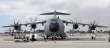 December 2016 - the first A400M to operate into Miami International Airport: Royal Air Force Airbus A400M-180 Atlas ZM406