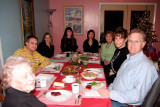 Dec. 2005 - Esther Criswell, David Criswell, Donna Boyd, Katie Criswell, Natsumi Iwamoto, Karen Boyd, Kathy and Jim Criswell