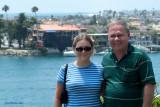 July 2003 - Donna and Don at Newport Beach, California