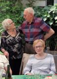 Raymonde, Albert et Arlette