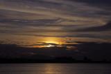 Sunset from Papeete, Tahiti.