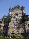 Victoria Central Station, Mumbai(Chhatrapati Shivaji Terminus), Mumbai, India.