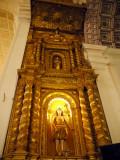 Altar Piece, Bom Jesus Basilica, Goa, India.