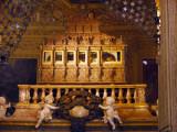Casket of St, Francis Xavier, Bom Jesus Basilica, Goa, India.