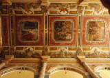 Ceiling Fresco, St. Aloysius Church, Mangalore, India.