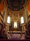 Altar, St. Aloysius Church, Mangalore, India.