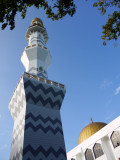 Grand Friday Mosque and Tower, Male, Maldives.