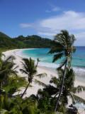 Beach Panorama, Seychelles.