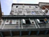 House and Balcony, Stonetown, Zanzibar, Tanzania.