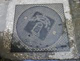 Manhole Cover, Stonetown, Zanzibar, Tanzania.