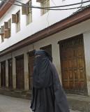 Zanzibari Woman, Stonetown, Zanzibar, Tanzania.