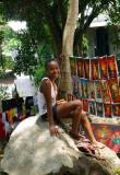 Village Pretty, Nosy Komba, Madagascar.