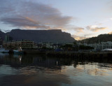 Table Mountain at Dusk, Capetown, South Africa.