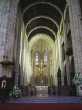Inside St. George's Cathedral, Capetown, South Africa.