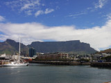 Table Mountain in glorious Sunshine, Capetown, South Africa.