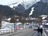 Rosshutte ski slope from Olympiastrasse