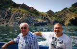Derek & John Sail by the Peak Rock
