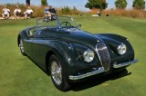 1953 Jaguar XK120 SE Roadster, Robert & Patricia Stadel, Lancaster, PA, at St. Michaels Concours in Maryland (4831)