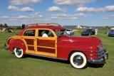 WOODEN CARS, BEST IN CLASS, 1948 Chrysler Town & Country 4-Door Sedan, Loren Hulber, Macungie, PA (5310)