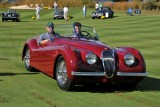 JAGUAR, BEST IN CLASS, 1954 Jaguar XK120 Roadster, Ron Schotland (5329)