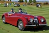 JAGUAR, BEST IN CLASS, 1954 Jaguar XK120 Roadster, Ron Schotland (5331)
