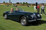 JAGUAR, 2nd IN CLASS, 1953 Jaguar XK120 SE Roadster, Robert & Patricia Stadel, Lancaster, PA (5337)