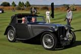 VIRGIL MAXWELL AWARD, 1938 MG TA Tickford Drophead Coupe by Salmon & Sons, Philip & Linda Laiacona, Trumbull, CT (5370)