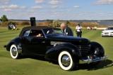 BEST OF SHOW, 1936 Cord 810 Phaeton, Rob & Barbara VanDewoestine, Durham, NC (5416)