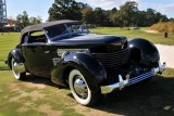 BEST OF SHOW, 1936 Cord 810 Phaeton, Rob & Barbara VanDewoestine, Durham, NC (5425)