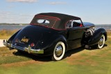BEST OF SHOW, 1936 Cord 810 Phaeton, Rob & Barbara VanDewoestine, Durham, NC (5433)