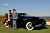 BEST OF SHOW, 1936 Cord 810 Phaeton, Rob & Barbara VanDewoestine, Durham, NC (5460)