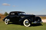 BEST OF SHOW, 1936 Cord 810 Phaeton, Rob & Barbara VanDewoestine, Durham, NC (5475)