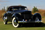 BEST OF SHOW, 1936 Cord 810 Phaeton, Rob & Barbara VanDewoestine, Durham, NC (5477)