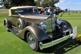 PACKARD, 2nd IN CLASS, 1934 Packard Twelve 1107 Coupe, Dave & Linda Kane, Bernardsville, NJ (5121)