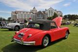 1960 Jaguar XK150 Drop Head Coupe, owner: Ron Gaertner, Manakin-Sabot, VA (8723)