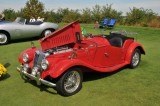 1953 MG TF Roadster, owner: William Bostian, Salisbury, MD (8729)