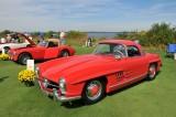 1959 Mercedes-Benz 300 SL Roadster, 2nd in Class, European Open Sports Car, owners: Phil & Judy Fleck, Limekiln, PA (8773)
