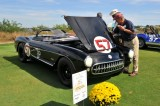 1957 Chevrolet Corvette Fuel-Injected 283 V8 Airbox Roadster, Best in Class, Racing, owners: Frank & Loni Buck (8882)