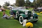 1931 Lincoln Model K Dual Cowl Phaeton by Murphy, owner: Stephen Babinsky, Lebanon, NJ (9177)