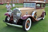 1931 Peerless Master 8 Sedan, owners: Jeff & Darlene Spence, Royal Oak, MD (9247)
